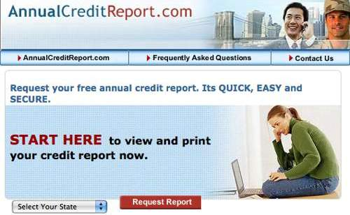 credit reporting. Annual Credit Report