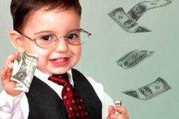 get rich, money for kids