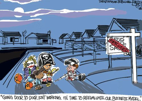 Halloween Cartoon from Bagley