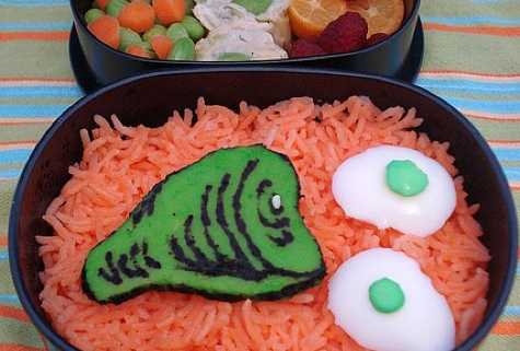 Green Eggs and Ham Bento Box