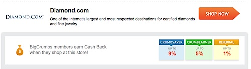 BigCrumbs, Diamond.com