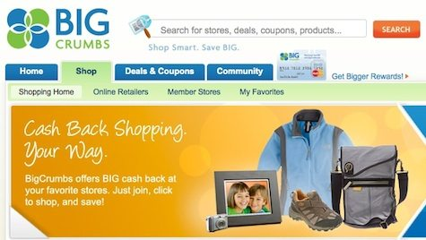 BigCrumbs Cash Back