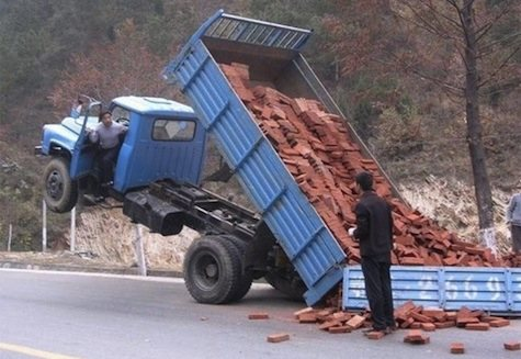 Truck of Bricks