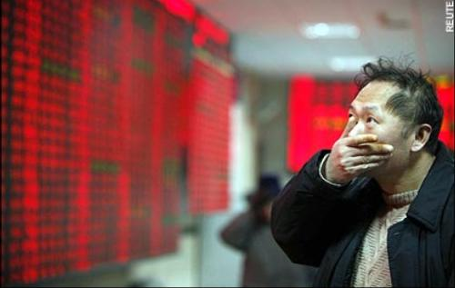 China stock exchange, stock market crash