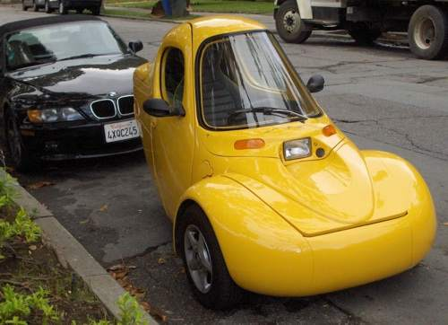 avoid high gas prices with a small car, corbin sparrow