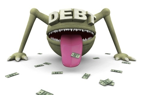 debt trouble, debt stress