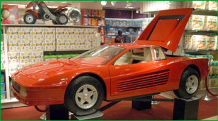 Ferrari Go Cart by FAO Schwarz
