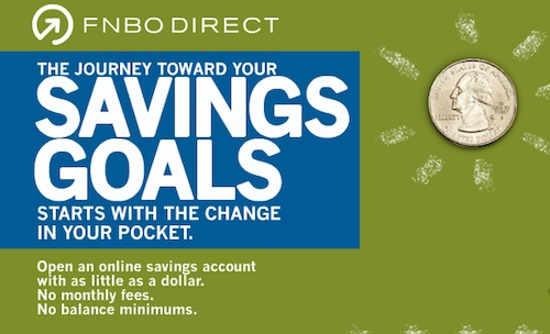 FNBO Direct Online Savings Account