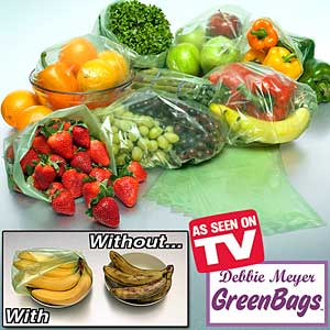 green food saver bags
