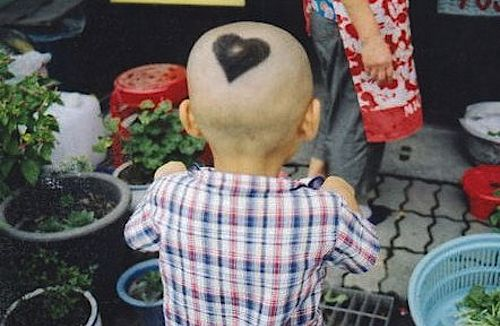 heart haircut
