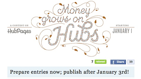 Money Grows on Hubs Contest