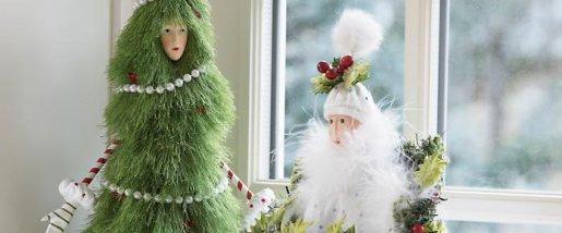 krinkle christmas trees