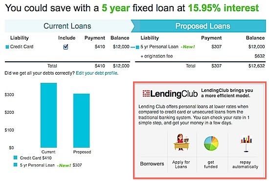 Lending Club & Credit Sesame