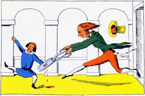 struwwelpeter, little suck a thumb