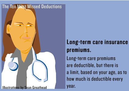 tax deductible long term care insurance