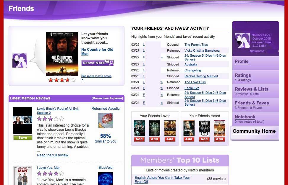 blog movie rental services