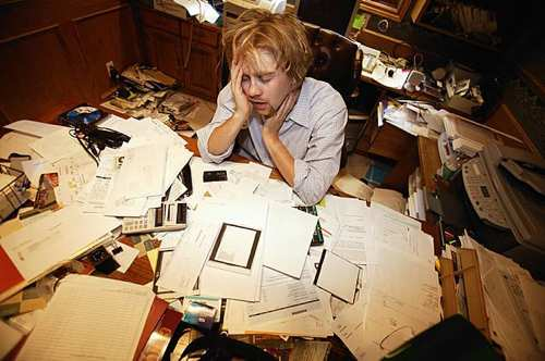 overwhelmed by financial records, no organization!