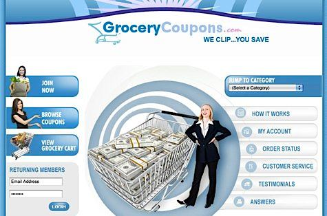 free grocery coupons to print. GroceryCoupons.com
