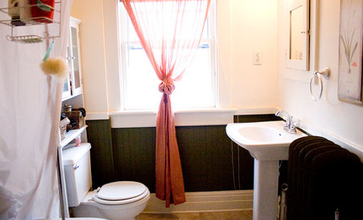 pedestal sink, bathroom remodel, home renovation