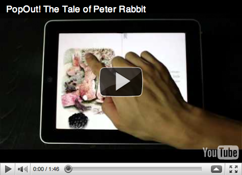 Peter Rabbit iPad story