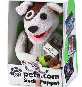 pets dot com sock puppet, dotcom boom and bust, money