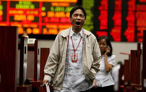 Philippines stock exchange, stock market crash