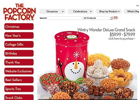 The Popcorn Factory @ Ebates.com