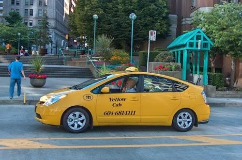 avoid high gas prices with a prius taxi