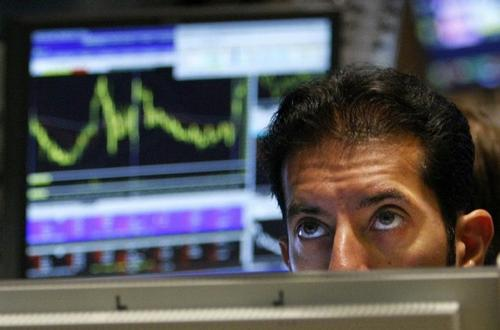 sad stock trader