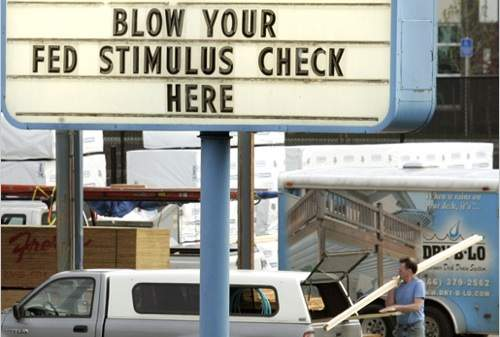 second economic stimulus package, stimulus check