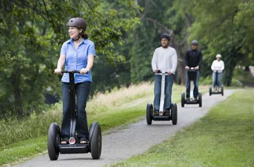 avoid high gas prices with a segway