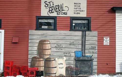 small business, general store