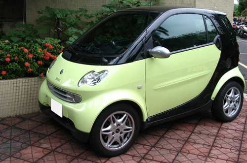 avoid high gas prices with a smart car, compact car