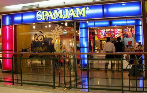 save money on food, spamjam restaurant