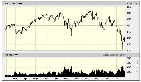 S&P january 2008