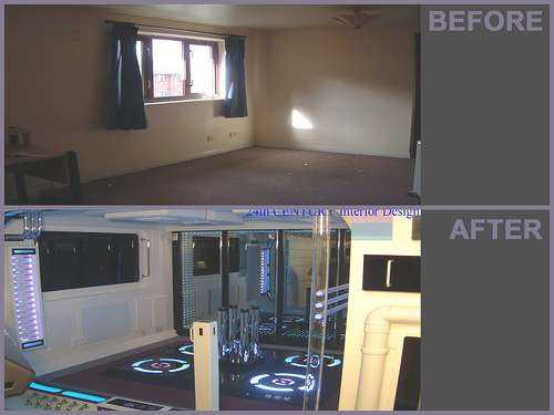 Star Trek House, Before And After Images