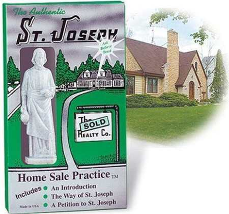 St. Joseph statue, real estate