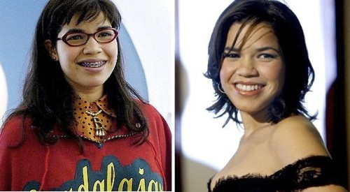 Ugly Betty, before and after