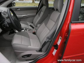 volvo v50 sportswagon car front seats