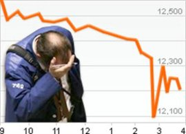 Wall Street Stock Market Crash