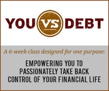 You vs Debt Financial Program by Adam Baker